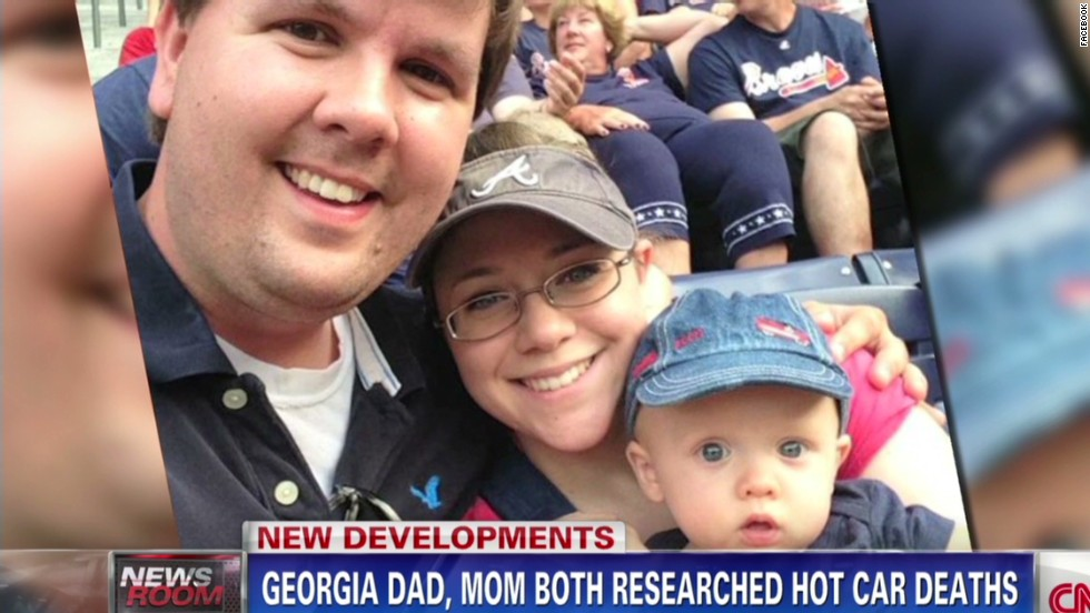 Mom, Dad both researched hot car deaths