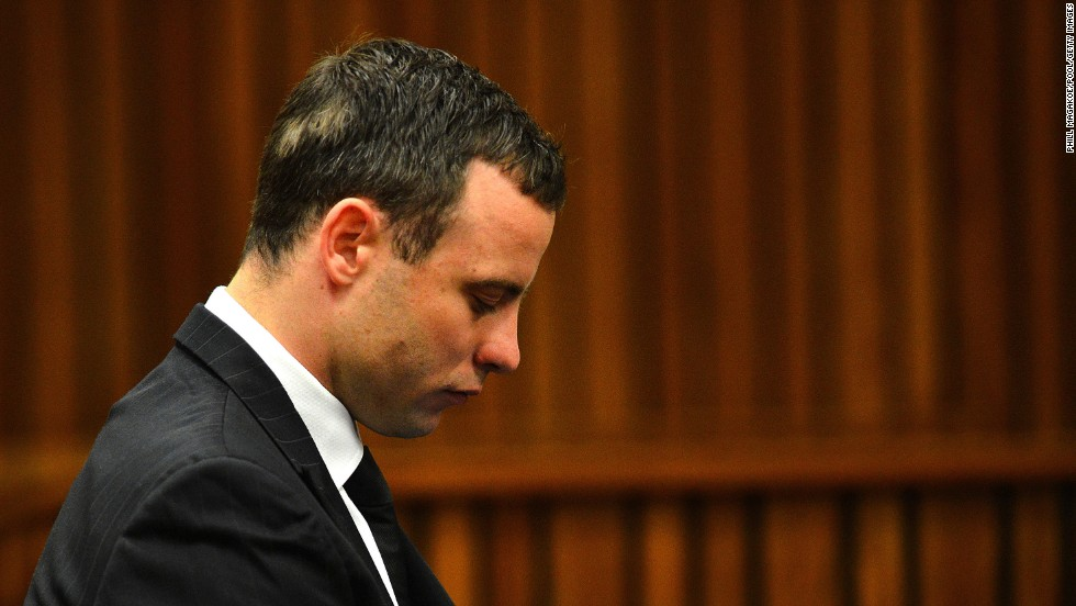 Pistorius listens to evidence being presented in court on Monday, June 30.