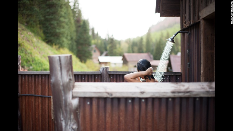 A resort that celebrates the natural beauty around it, Dunton Hot Springs in Colorado is a highly-rated mountain destination.