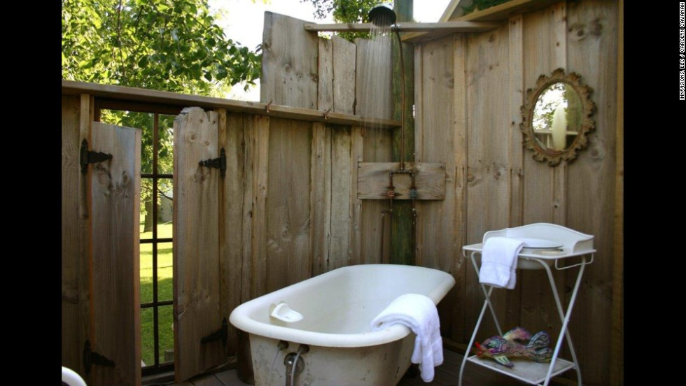 The Coolest Outdoor Hotel Showers Cnn Com