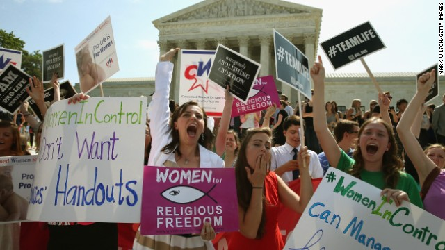 Pro-choice group: This is discriminatory