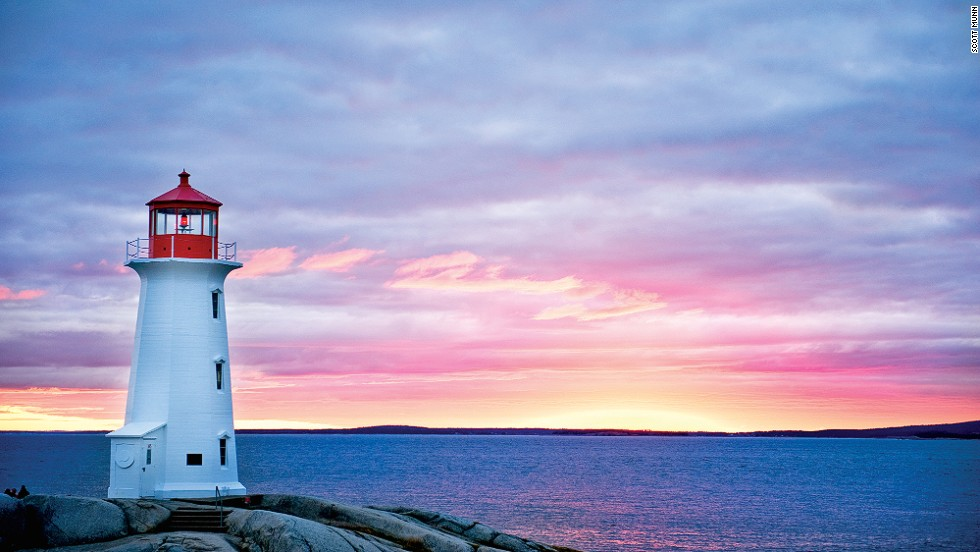 "Famous for its stunning natural scenery, fresh seafood and working fishing village, Peggy's Cove, in the eastern coastal province of Nova Scotia, is best known for its historic lighthouse, built in 1915. <a href=""http://www.peggyscoveregion.com/peggys-cove-area/"" target=""_blank""><br />More info: Peggyscoveregion.com</a>"