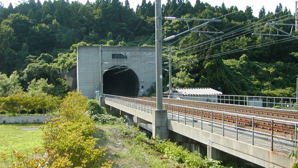 The 53-kilometer Seikan is a railway tunnel in Japan with a 23-kilometer stretch that runs underwater, making it the world's longest and deepest rail tunnel. <strong>Length: </strong>53 kilometers