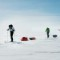 run around the world-Skiing in Greenland
