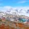 run around the world-Tasiilaq Greenland