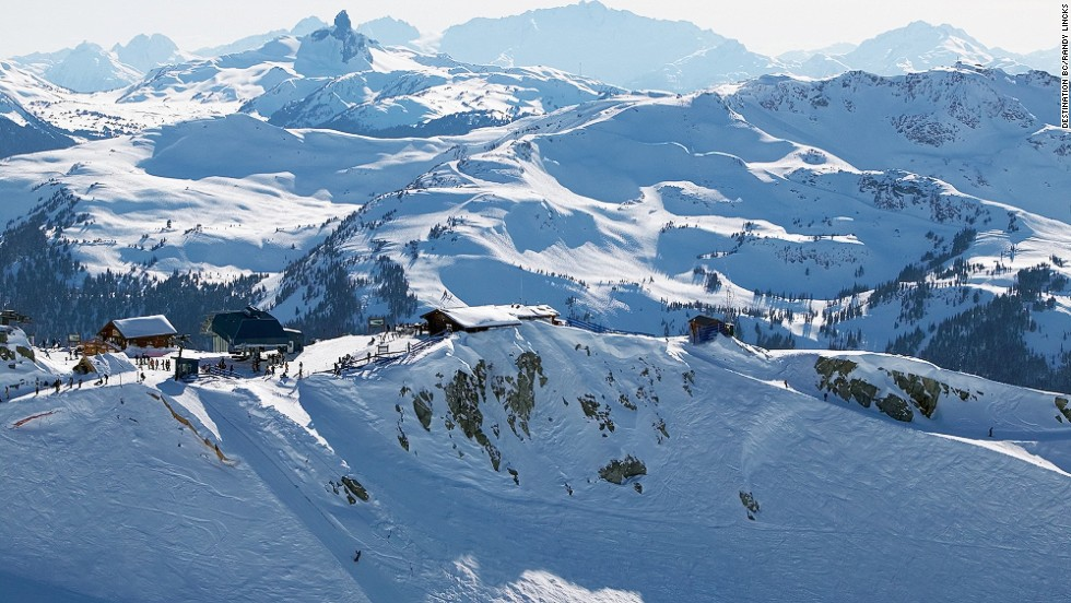 "Horstman Hut (pictured) on Blackcomb Mountain, sits in front of Horstman Glacier and Black Tusk Mountain at the Whistler Blackcomb Ski Resort. Less than two hours from Vancouver, Whistler was the site of many events during the Vancouver 2010 Winter Olympic Games.<a href=""http://www.whistlerblackcomb.com/"" target=""_blank""><em>More info: Whistlerblackcomb.com</a></em>"