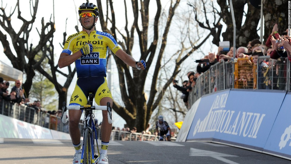 Two-time champion  Alberto Contador is considered the main threat to Froome's dominance.  The Spaniard won the Tirreno Adriatico in Italy earlier this year and has impressed in other warm-up races.