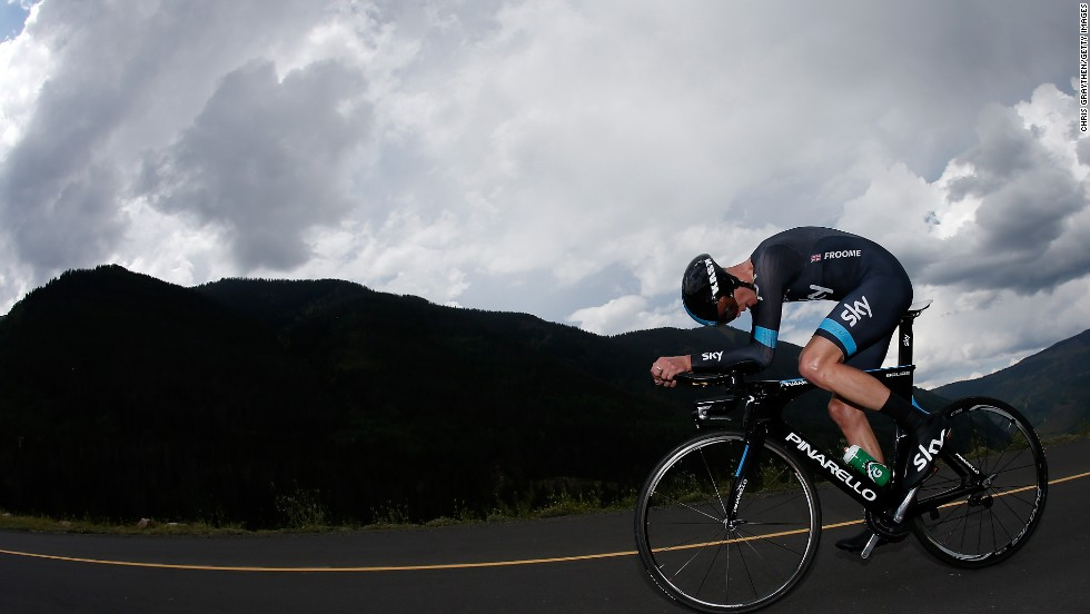 The reigning Tour de France champion Chris Froome will be looking to replicate his successes in last year's tour, which saw him win three stages and finish over four minutes clear of his nearest rival.