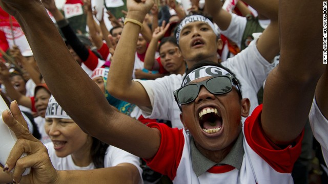 Countdown to election day in Indonesia