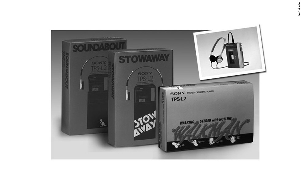 Released in 1979, the TPS-L2 was the first model of Walkman that Sony released. It wasn't the very first portable cassette player designed to let users listen on the go. But the earlier product, called the Stereobelt, was considered too big, ugly and expensive and didn't last long.