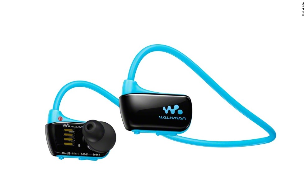 The Walkman line has lost much of its shine in the iPod era. But like the rest of the tech world, Sony has gone digital with its iconic product. The most recent Walkman mp3 players include last year's NWZ-W273. Smaller than many headphones, the set even lets you wear them in the pool.