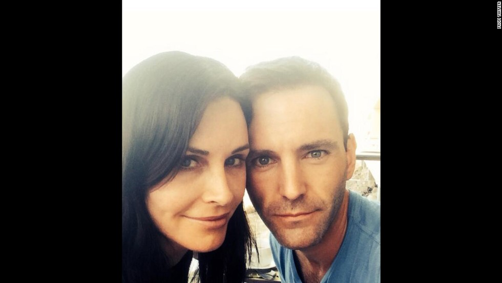 "Actress Courteney Cox <a href=""https://twitter.com/CourteneyCox/status/482332506864111616/photo/1"" target=""_blank"">announced her engagement</a> to musician Johnny McDaid on Thursday, June 26."