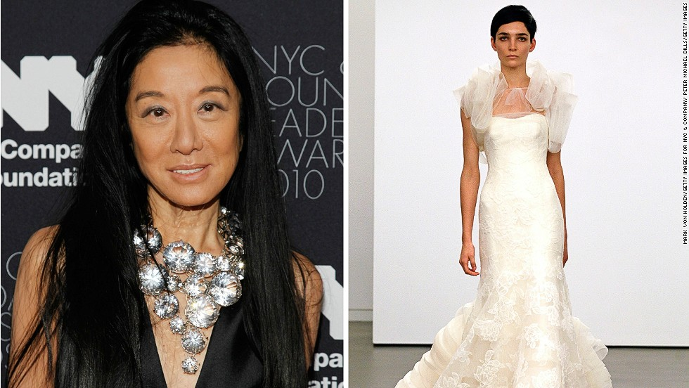 "<em>Vera Wang, wedding dresses</em><br /><br />The appeal of Vera Wang's dreamlike creations transcends borders and cultural differences to be coveted by brides from four corners of the globe. The former fashion editor first stepped on to the scene in the 1980s, the era of extravagance when the hunger for luxury goods was on the rise. <br /><br />""Vera Wang was the right person at the right time with the right idea,"" says FIT's Patricia Mears. ""She realized that high fashion bridal wear was lacking, and she made very exquisite couture quality wedding gowns. But she wasn't selling just dresses, she was selling a very high-end vision, and by creating this bridal line, she made the industry much more important."""