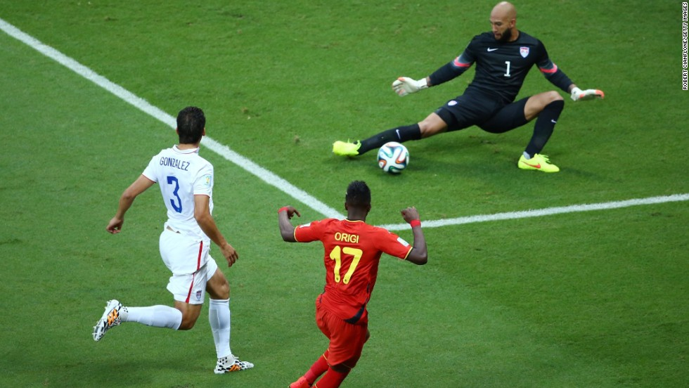 Tim Howard established himself as a U.S. hero with his performance in the 2-1 defeat by Belgium. Team USA produced a fine display to come from 2-0 down and almost take the game to penalties. Howard made a record 16 saves as the U.S bowed out at the round of 16.