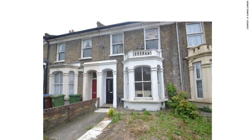The house went on the market two weeks ago and estate agent, JT Clarke London, says there has already been significant interest.