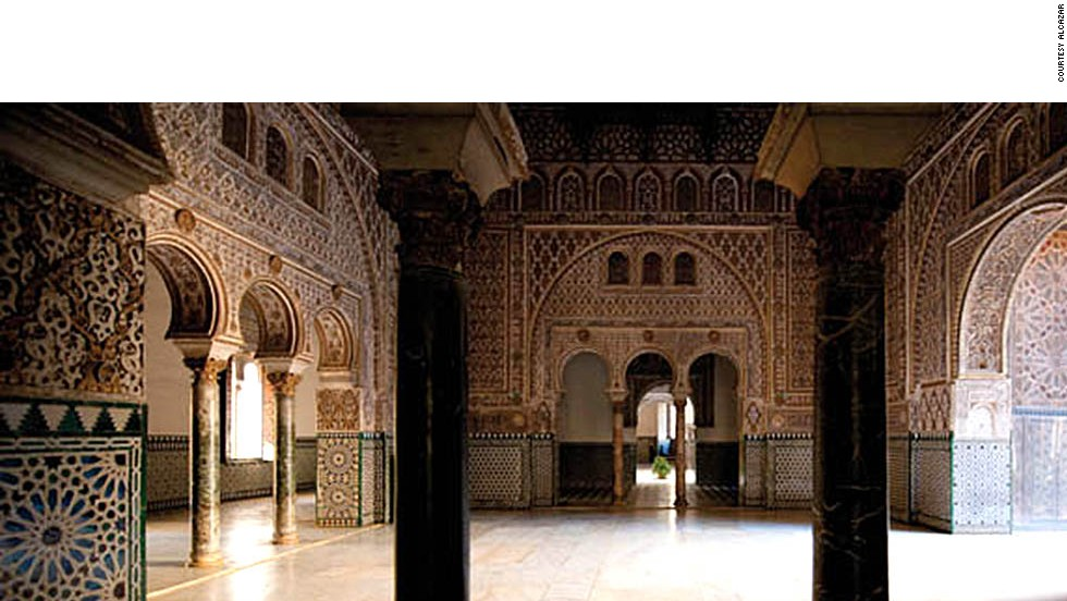 Having undergone numerous renovations during its long history, the palace is famed for its intricate Andalusian decor.