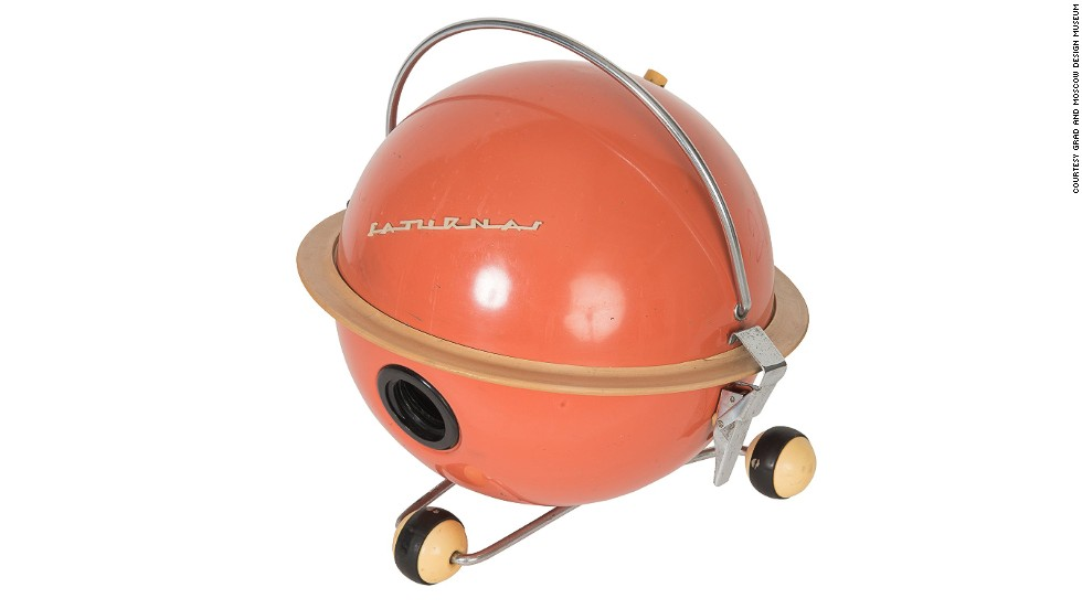 "<strong>""Saturnas"" Vacuum Cleaner, produced from 1962</strong><br /><br />For many of those Soviets moving into the new standardized apartment blocks or ""khrushchevkas,"" it was the first time they had access to electricity and running water.<br /><br />Vacuum cleaners were a new technology and, said Chiriac, ""people really wanted them"" as ""trophy objects.""<br /><br />Unfortunately, despite the concerted scramble to design and produce new consumer goods, demand too often outstripped supply and, says Chiriac, Soviets often complained that they simply couldn't get their hands on them."