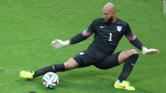 Tim Howard shines despite Tourette's