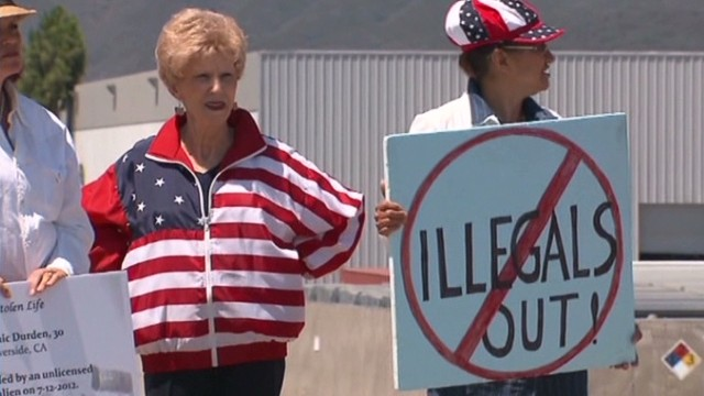 Murrieta Mayor on immigration protests