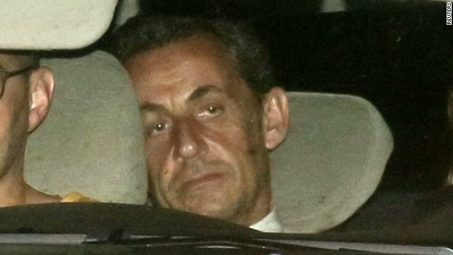 Sarkozy denies corruption allegations