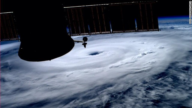 Hurricane Arthur gaining strength