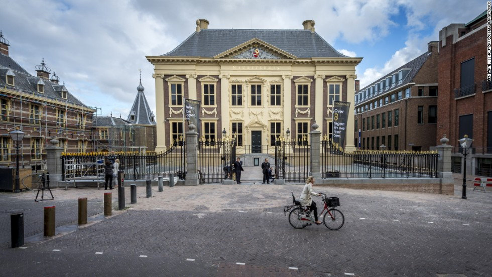"The Mauritshuis museum reopened to the public in June 2014 after two years of renovations. The museum is home to Vermeer's ""Girl With a Pearl Earring"" and other masterpieces. Check out some other highlights of The Hague:"
