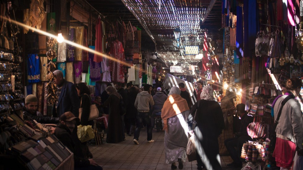 The medina is a great place for wandering, getting lost and even picking up a bargain -- shoppers need good haggling skills.