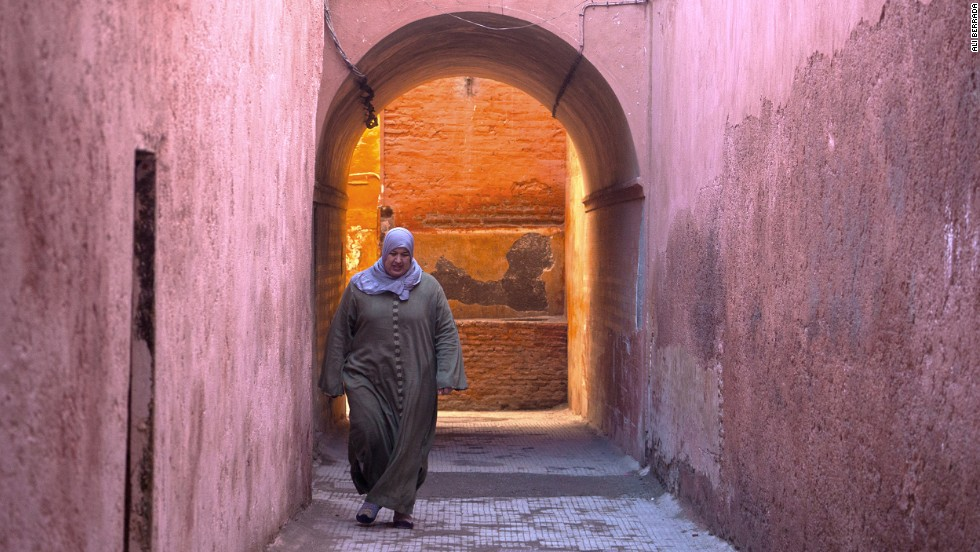 "Marrakech photographer Ali Berrada advises carrying compact camera equipment. ""Walking through narrow streets of the old medina with a bulky professional camera, tripod and bag full of lenses is the easiest way to spook potential subjects,"" he writes."