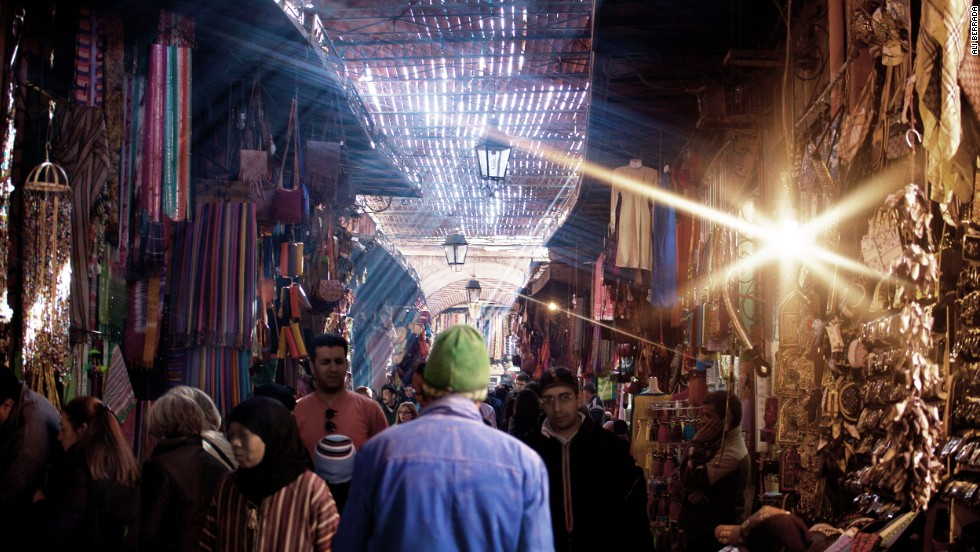 "Filled with color, light and interesting people, Morocco's ""Red City"" of Marrakech is a photographer's dream. Shooting it can sometimes pose problems though -- many locals are reluctant to have their photo taken."