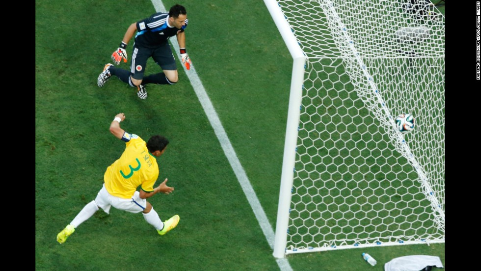 Thiago Silva's goal came on a redirected corner kick.