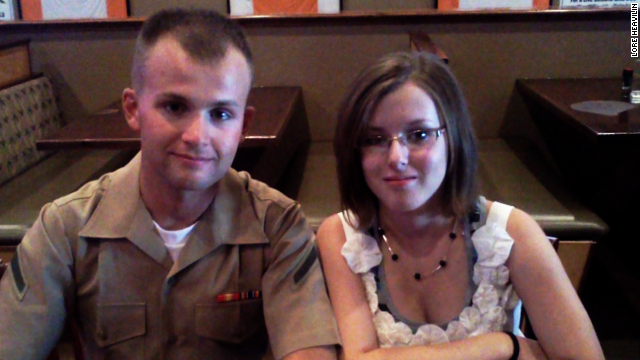 Marine's pregnant wife goes missing