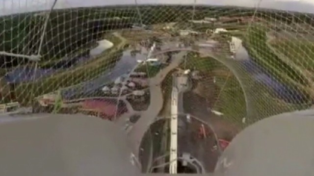 See view from world's tallest water slide