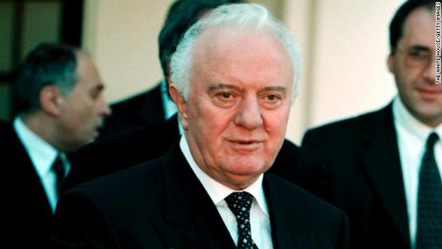 Former Georgia President Shevardnadze dies
