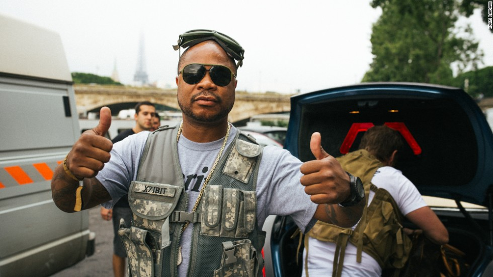 """There's no purpose to it,"" grins rapper Xzibit one foggy morning in France. ""It's the camaraderie -- the brotherhood."""