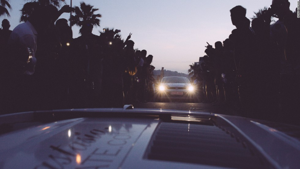 Hundreds of thousands of spectators line streets, climb poles and lean over barriers, waiting for a glimpse of the fine-tuned monsters and their famed drivers during the Gumball 3000 week.