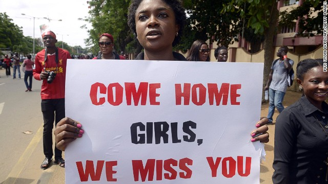 Nigeria's missing girls: 100 days later