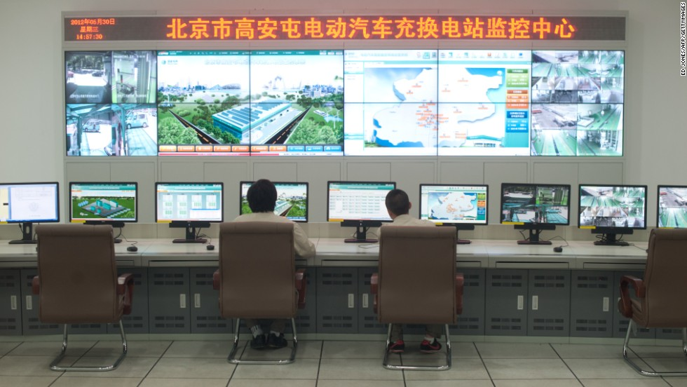China's largest state-owned energy company, China State Grid, came seventh in the list.