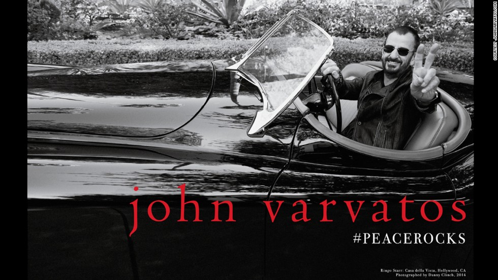 On July 7, on his seventy-fourth birthday, Ringo Starr was named the face of John Varvatos' Fall 2014 campaign, adding one more notable look to his more than fifty years as an avatar of style.