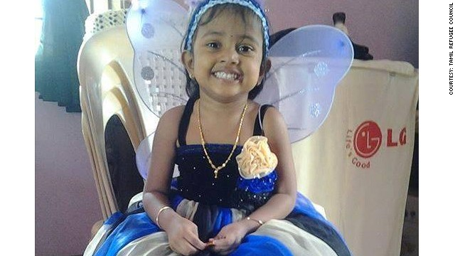 Three-year-old Febrina