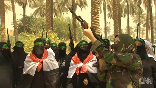 Women recruited to protect Baghdad