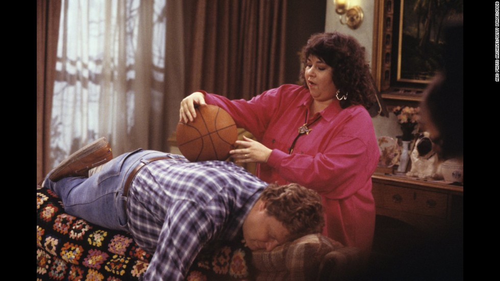 "ABC's ""Roseanne"" was lauded as a groundbreaking comedy with an outspoken star in Roseanne Barr. The show was routinely No. 1 in its timeslot, but shockingly, that never translated to a best comedy nomination."