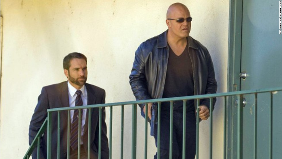 "FX's ""The Shield"" was a gritty precursor to a few other cop shows and received lots of acclaim. Star Michael Chiklis, right, won an Emmy for best lead actor in a drama in 2002, but the series never scored."