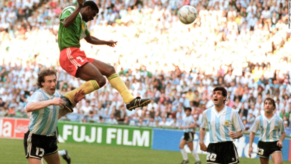 <strong>Argentina 0-1 Cameroon (1990):</strong> Argentina was defending champion and, inspired by Diego Maradona in midfield, was expected on the opening day of the tournament to ease past a team which had drawn all three previous matches on its only other World Cup appearance. But Cameroon pulled off a remarkable shock as forward Francois Omam-Biyick headed the only goal in Milan, while two of his teammates were sent off.
