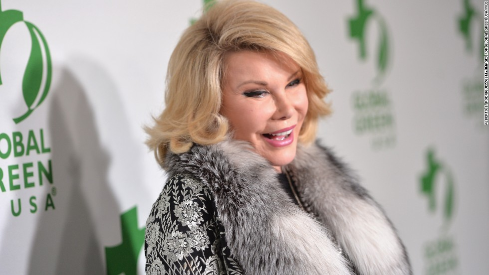 "Joan Rivers' interview with CNN's Fredricka Whitfield on July 5 went awry when Rivers took offense to Whitfield's line of questioning about her new book <a href=""http://newsroom.blogs.cnn.com/2014/07/05/joan-rivers-storms-out-of-cnn-interview/?iref=allsearch"" target=""_blank"">and walked out on the Q&A</a>. <a href=""http://www.accesshollywood.com/joan-rivers-explains-her-cnn-walkout_video_2236037"" target=""_blank"">Speaking to ""Access Hollywood</a>"" after her angry exit, Rivers said she felt like she was being interrogated. ""It's not the Nuremberg Trials. She was going at me so negatively. ... It's a funny book,"" Rivers said. ""It's like, you don't say to the Olsen twins, 'What's your favorite place to vomit?' ... I really did get mad."""