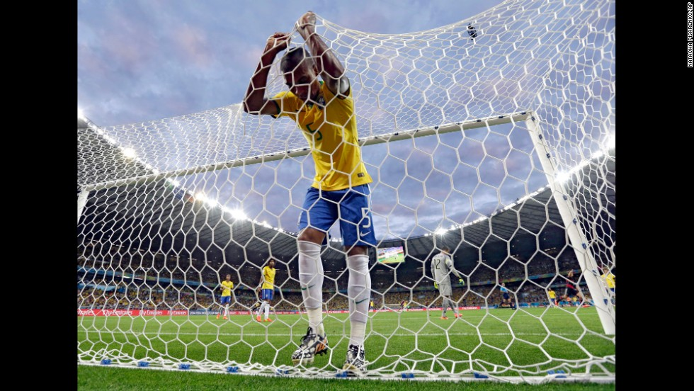 "There was talk that without star striker Neymar and defender Thiago Silva, Brazil would have its work cut out against the efficient Germans. Boy, was that an understatement. The Germans <a href=""http://www.cnn.com/2014/07/08/football/gallery/world-cup-best-0708/index.html"">handed down a 7-1 walloping</a> never seen before in a World Cup semifinal. The game will fall in line with some of these examples of history's worst humiliations in sport."