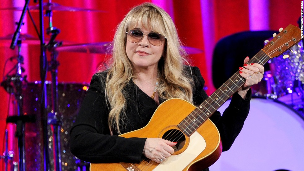 "Stevie Nicks, seen here receiving the BMI Icon Award at the BMI Pop Awards in May, is also a new cast member of NBC's ""The Voice."" But before she was on ""The Voice's"" team, she was a rocking member of Fleetwood Mac:"