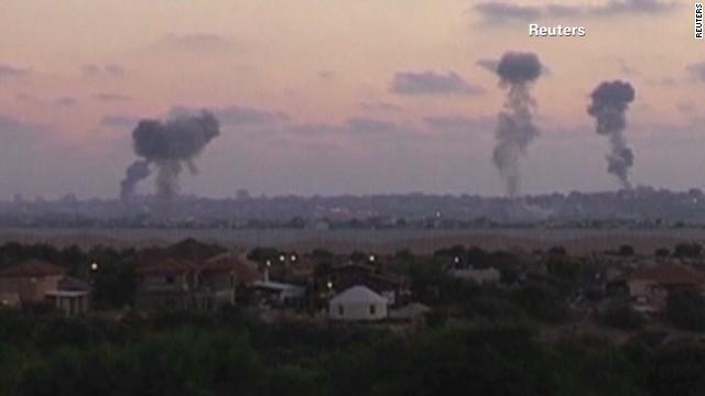 Israeli airstrikes hammer Gaza
