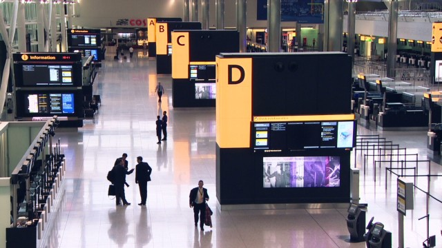 A tour of Heathrow's new 'world class' terminal