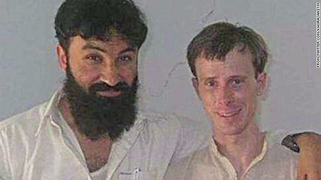 Bergdahl posed with Taliban leader