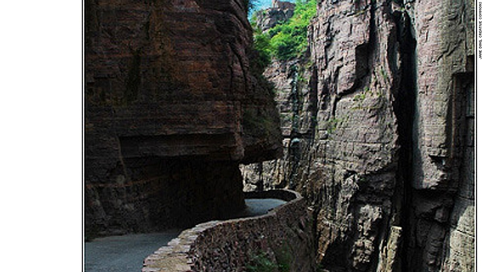 In 1972, a group of 13 Chinese villagers decided to construct the Guolian Tunnel by hand. Three died during the  process but the 1.2-kilometer tunnel transformed the village and became a tourist attraction. <strong>Length: </strong>1.2 kilometers